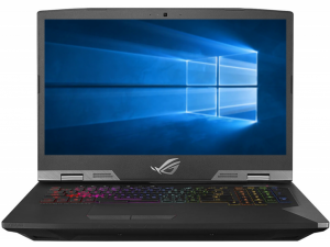 Asus Rog G703GX-E5039T 17.3 FHD, Intel® Core™ i9-8950HK, 32GB, 3x512GB SSD, NVIDIA GeForce RTX 2080 - 8GB, Win10, titánium-ezüst notebook