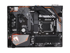 Gigabyte GA-B360-GAMING 3 WIFI AORUS alaplap - s1151, Intel® B360, ATX