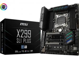 MSI X299 SLI PLUS alaplap - s2066, Intel® X299, ATX