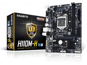 GIGABYTE H110M-H alaplap - S1151, Intel® H110, mATX