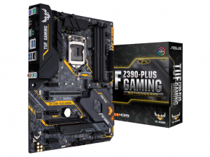 ASUS TUF Z390-PLUS GAMING alaplap - S1151 Intel® Z390, ATX