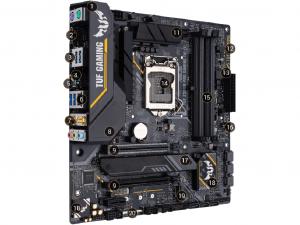 ASUS TUF Z390M-PRO GAMING (WI-FI) - S1151, Intel® Z390, mATX