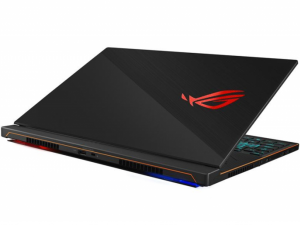 Asus Rog Zephyrus S GX531GX-ES016T 15.6 FHD, Intel® Core™ i7 Processzor-8750H, 24GB, 512GB SSD, NVIDIA GeForce RTX 2080 - 8GB, Win10, fekete notebook