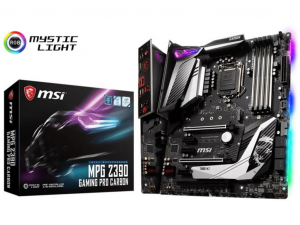 MSI MPG Z390 GAMING PRO CARBON alaplap - Intel® Z390, LGA1151, ATX