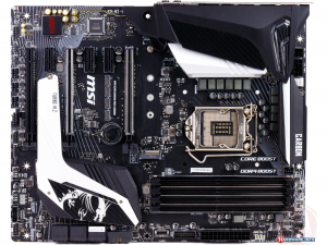 MSI MPG Z390 GAMING PRO CARBON alaplap - Intel® Z390, LGA1151, ATX