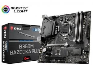 MSI B360M BAZOOKA PLUS alaplap - Intel® B360, LGA1151, mATX
