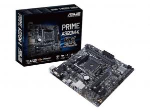 ASUS PRIME-A320M-K alaplap - sAM4, AMD A320, mATX