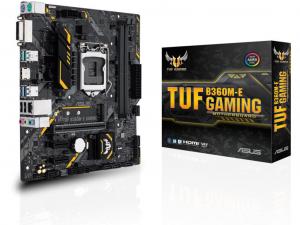 ASUS TUF B360M-E GAMING alaplap - s1151, Intel® B360, mATX
