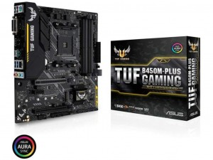 ASUS TUF B450M PLUS GAMING alaplap - sAM4, AMD B450, mATX