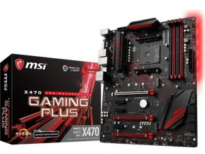 MSI X470 GAMING PLUS alaplap - sAM4, AMD X470, ATX