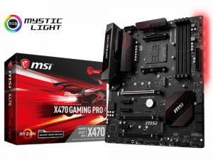 MSI X470 GAMING PRO alaplap - sAM4, AMD X470, ATX