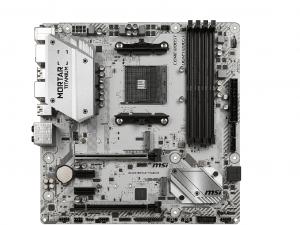 MSI B450M MORTAR TITANIUM alaplap - sAM4, AMD B450M, mATX