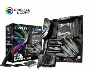 MSI MEG X299 CREATION alaplap - s2066, AMD X299, E-ATX