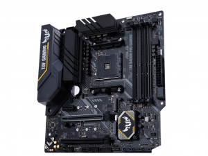 ASUS TUF B450M-PRO GAMING alaplap - sAM4, AMD B450, mATX