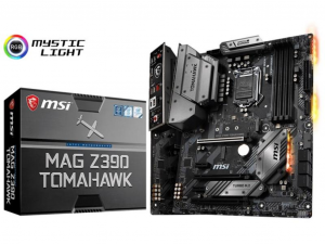 MSI MAG Z390 TOMAHAWK alaplap - s1151, Intel® Z390, ATX