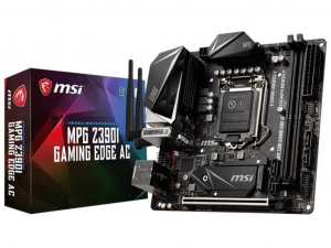 MSI MPG Z390I GAMING EDGE AC alaplap - s1151, Intel® Z390, mITX