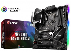 MSI MPG Z390 GAMING EDGE AC alaplap, s1151, Intel® Z390, ATX