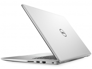 Dell Inspiron 7580 7580FI5WA2 15 FHD AG, i5-8265U, 8GB, 128GB SSD + 1TB HDD, GeForce MX150 - 2GB, Win10H, Ezüst notebook