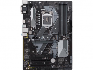 Asus Prime H370-PLUS/CSM alaplap - Intel® H370, s1151, ATX