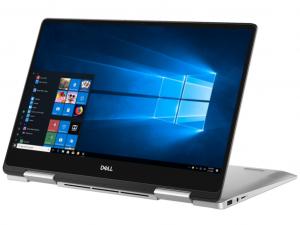 Dell Inspiron 7386 7386FI7WC2 13.3 FHD Touch, Intel® Core™ i7 Processzor-8565U, 16GB, 512GB SSD, FP, Win10, ezüst notebook