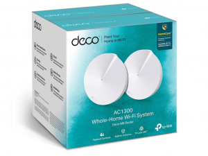 TP-LINK Deco M5(2-pack) AC1300 Whole-Home Wi-Fi System