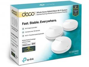 TP-LINK Deco P7(3-pack) - AC1300+AV600 Powerline Mesh System