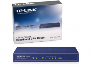 TP-LINK TL-R600VPN SafeStream™ Gigabit Broadband VPN Router