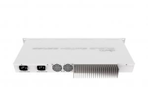 MikroTik CRS317-1G-16S+RM - 19 Colos, szekrénybe szerelhető Layer 3 switch, 1xGbE LAN, 16xSFP+,