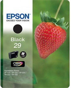 Epson Claria 29 Original Ink Cartridge - Black - Inkjet - Fekete patron XP-342