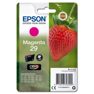 Epson Claria 29 Original Ink Cartridge - Magenta - Inkjet - Piros patron XP-342