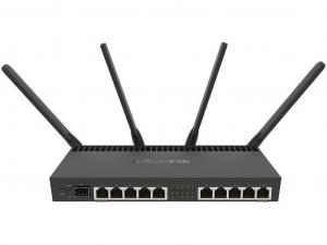 Mikrotik RB4011IGS+5HACQ2HND-IN vezeték nélküli router - 10 Gigabit Ethernet port, 1 SFP+ port, 1 Console port