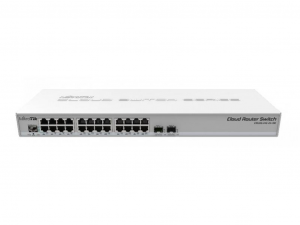 MikroTik CRS326-24G-2S+RM Layer 3 switch - 24 Gigabit Ethernet port, 2 SFP+ port