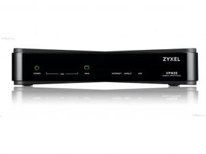 ZyXEL VPN2S-ZZ0101F tűzfal - 1 x GbE WAN, 1 x OPT, 3 x GbE LAN, 2 x USB, VPN