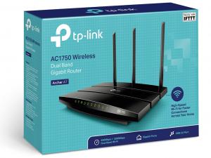 TP-Link Archer A7 vezeték nélkül router - 1 Gigabit Ethernet WAN, 4 Gigabit Ethernet LAN