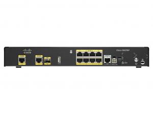 Cisco 892FSP router - 2 Gigabit Ethernet WAN, 8 Gigabit Ethernet LAN, 1 SFP, 1 USB 2.0