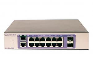 Extreme Networks 210-12p-GE2 - 12 portos menedzselhető Layer 3 switch