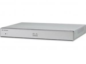 Cisco C1111-4P Router - 5 x PoE port,1 x GbE, szekrénybe szerelhető