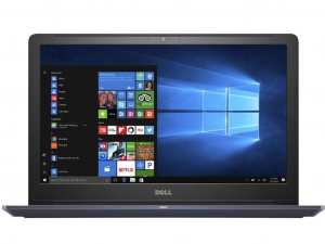 Dell Vostro 5568 - 15.6 FHD, Intel® Core™ i5 Processzor-7200U, 8GB, 256GB SSD, Nvidia GeForce 940MX - 2GB, Win10P, kék notebook