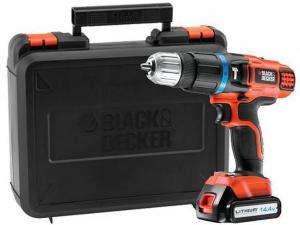 Black & Decker EGBL148K-QW 14,4V 2 sebeséges Li-Ion Ütvefúró/csavarozó kofferben