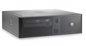 HP rp5700 SFF használt PC