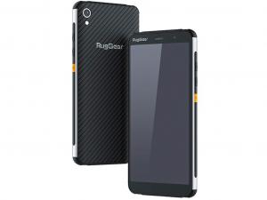 RugGear RG850 IP68 ütés- és vízálló fekete telefon