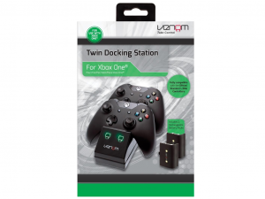 Venom VS2851 Xbox One fekete töltőállomás + 2 db akkumulátor