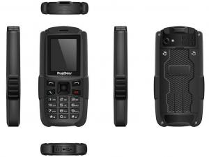 RugGear RG129 IP67 ütés és vízálló fekete telefon