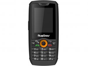 RugGear RG150 IP68 ütés és vízálló fekete telefon