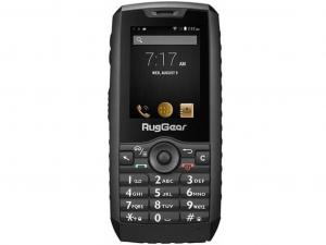 RugGear RG160 IP68 ütés- és vízálló fekete telefon