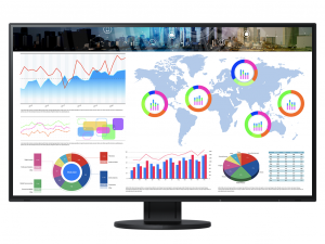 EIZO EV3285-BK EcoView - 31.5 Colos UHD monitor