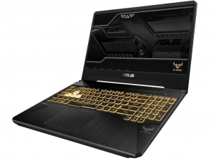 Asus TUF Gaming FX505GE-AL403 15,6 FHD 120Hz, Intel® Core™ i7 Processzor-8750H, 8GB, 1TB SSHD (FireCuda), NVIDIA GeForce GTX 1050Ti - 4GB, DOS, gold steel notebook