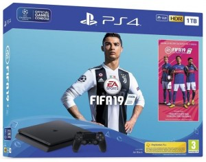 Sony Playstation 4 SLIM (PS4) 1TB - Fifa19 Bundle