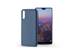 Huawei P20 szilikon hátlap - Soft - kék