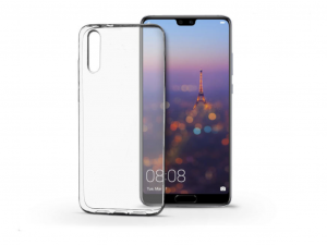 Huawei P20 szilikon hátlap - Ultra Slim 0,3 mm - transparent